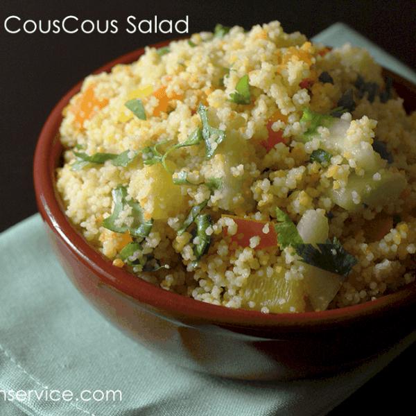Vegetarian Summer Couscous Salad recipe!