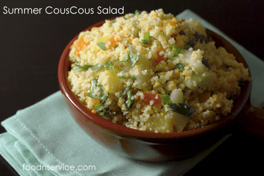 Vegetarian Summer Couscous Salad recipe!