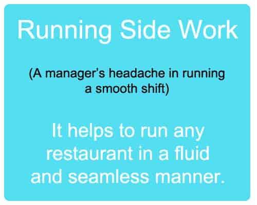 running sidework