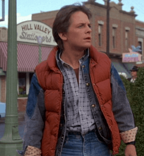 Marty McFly from Back To The Future Costume Idea!  sc 1 st  FoodnService & 100 Halloween Costume ideas!