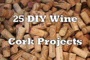 DIY wine cork projects
