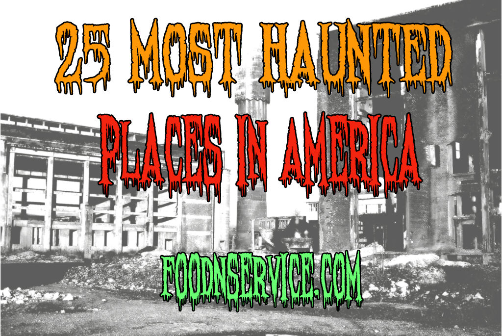 25 most haunted places in america