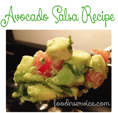 easy traditional avocado salsa recipe