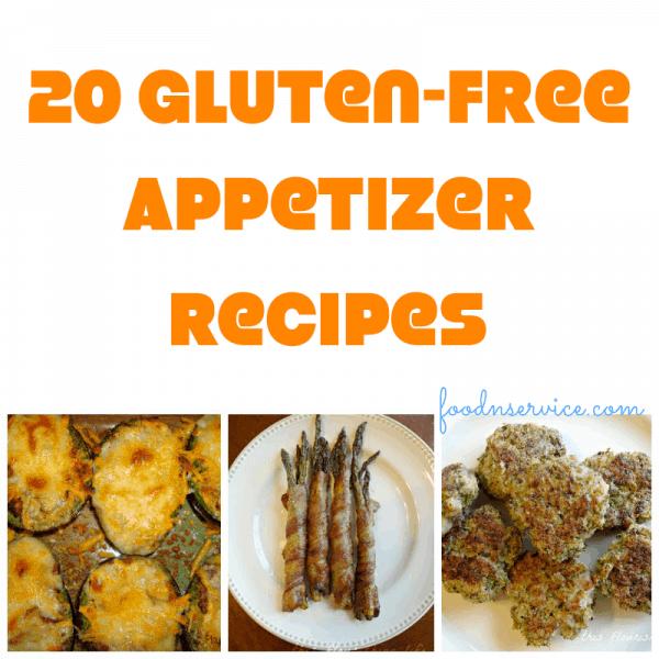 25 gluten free appetizer recipes