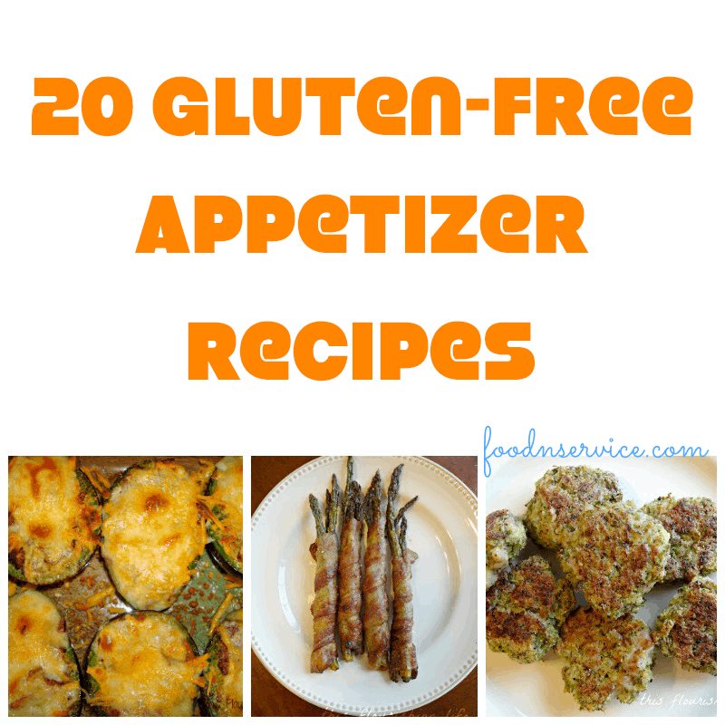 25 gluten free appetizer recipes