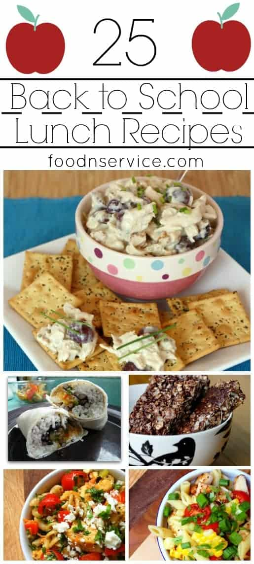 easy to make school lunches