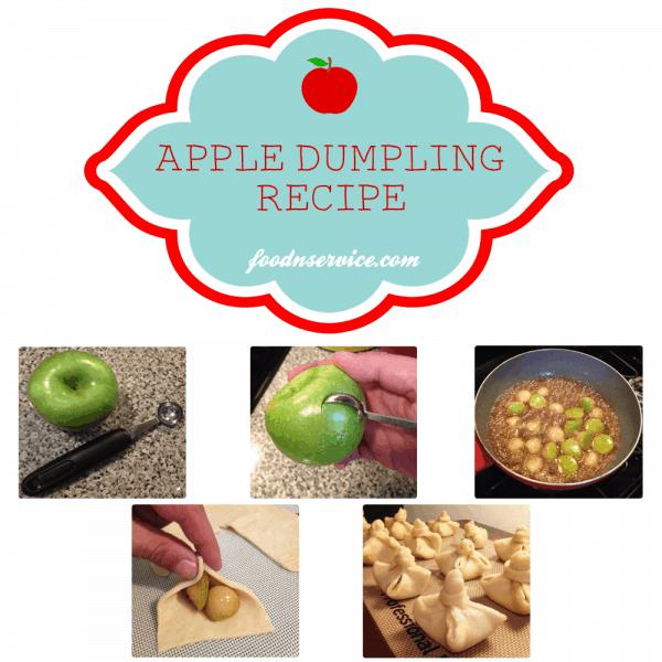 mini apple dumpling dessert recipe