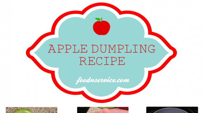 mini apple dumpling dessert recipe