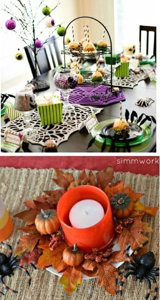 20 fun diy halloween centerpieces