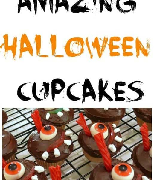 20 DIY Halloween cupcakes for kids