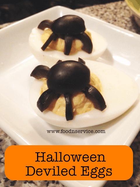 DIY Halloween Deviled Eggs