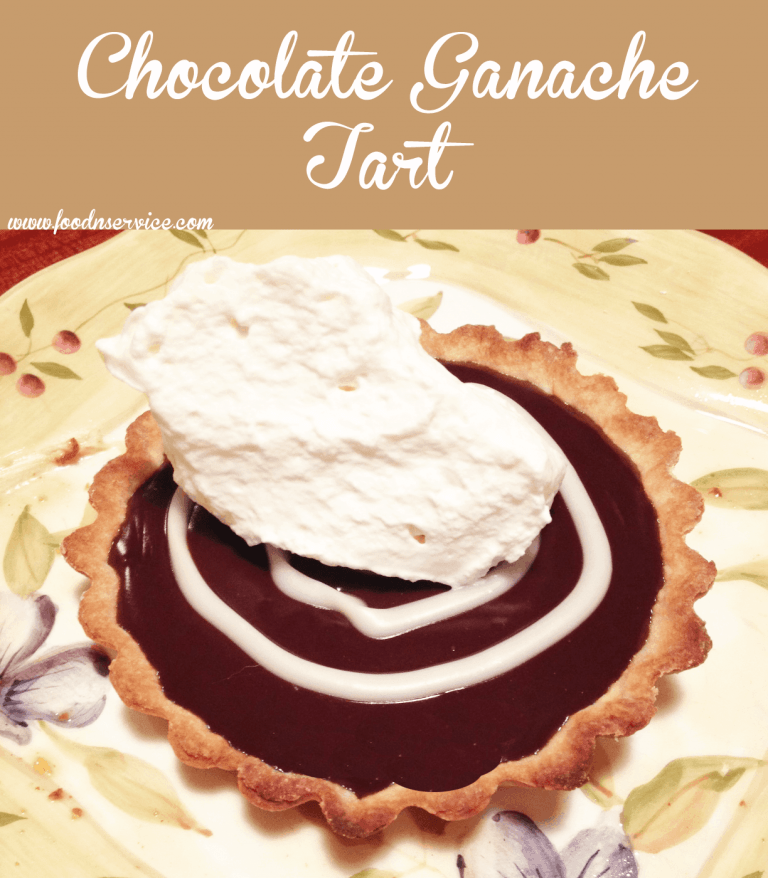 chocolate ganache tart recipe