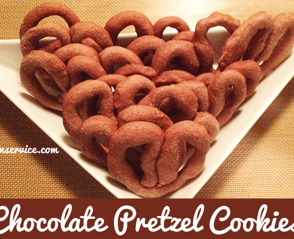 """Chocolate Pretzel Cookies Recipes! Put a """"twist"""" into your cookie recipe book with these delicious and simple to make cookies!"""