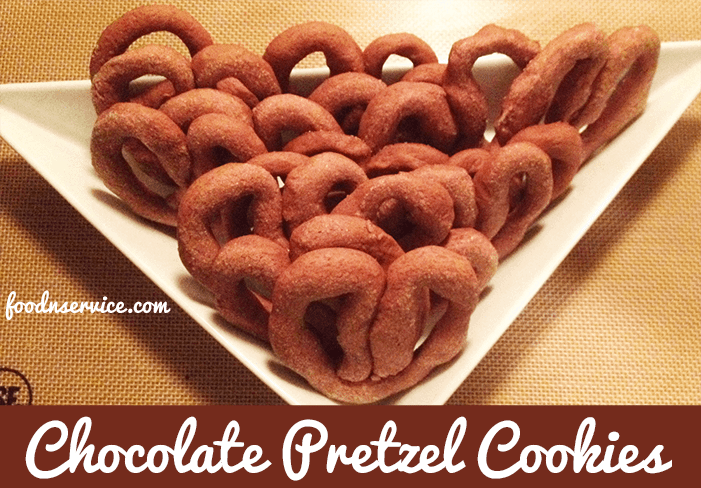 Chocolate Pretzel Cookies Recipe Food N Service