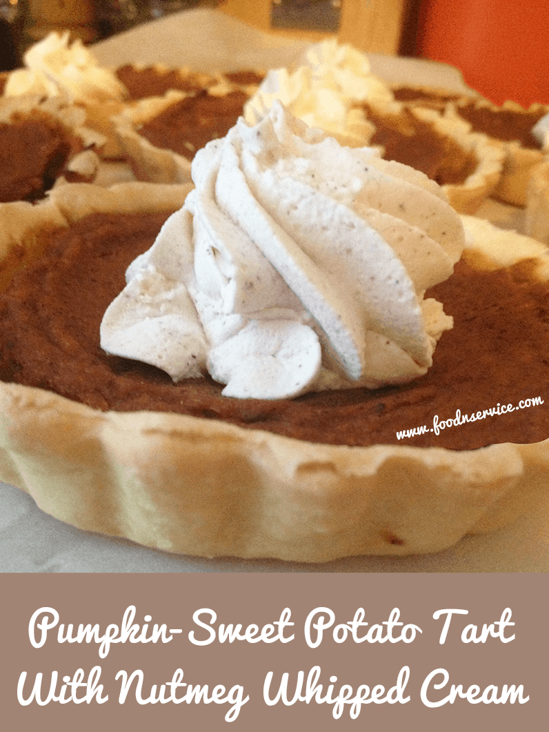 pumpkin sweet potato tart recipe dessert