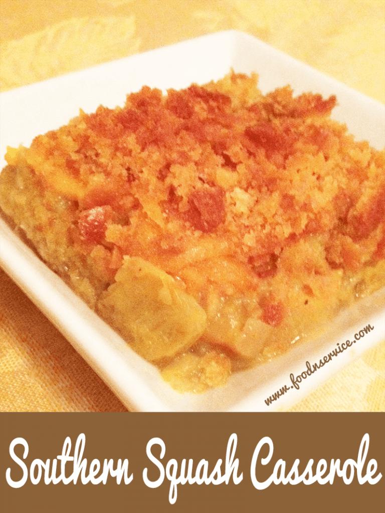 Southern Squash Casserole Recipe #recipes #squash #casserole #vegetarian