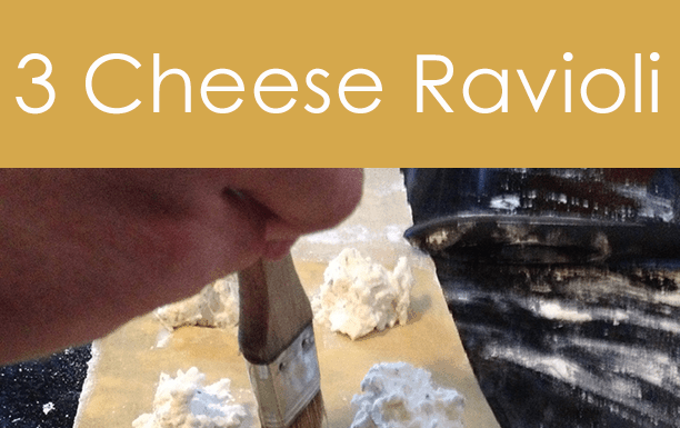 Three Cheese Ravioli Recipe. Super delicious, fun and simple!