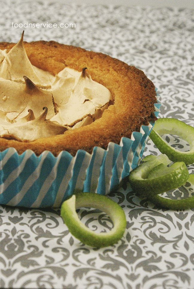 lime meringue muffin recipe. Gluten free!