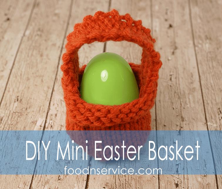 Free Easter Basket Knitting Pattern For The Beginner