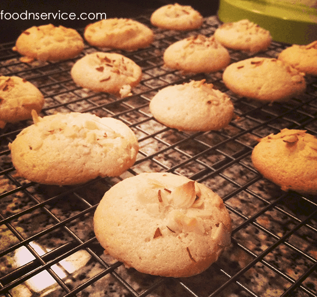 Gluten Free Almond Cookies Recipe!