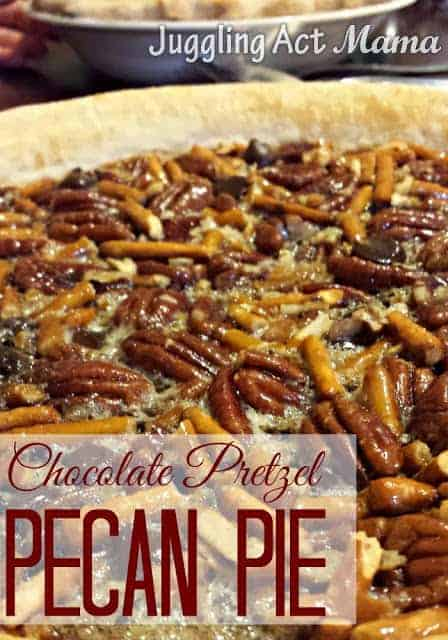 Chocolate Pretzel Pecan Pie Recipe is simply amazing and delicious.