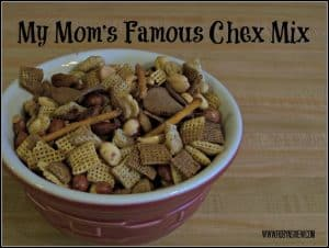 Mom's Favorite Pretzel Chex mix!