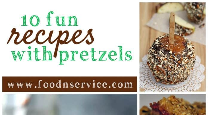 10 Fun Pretzel Recipes to enjoy all year long!