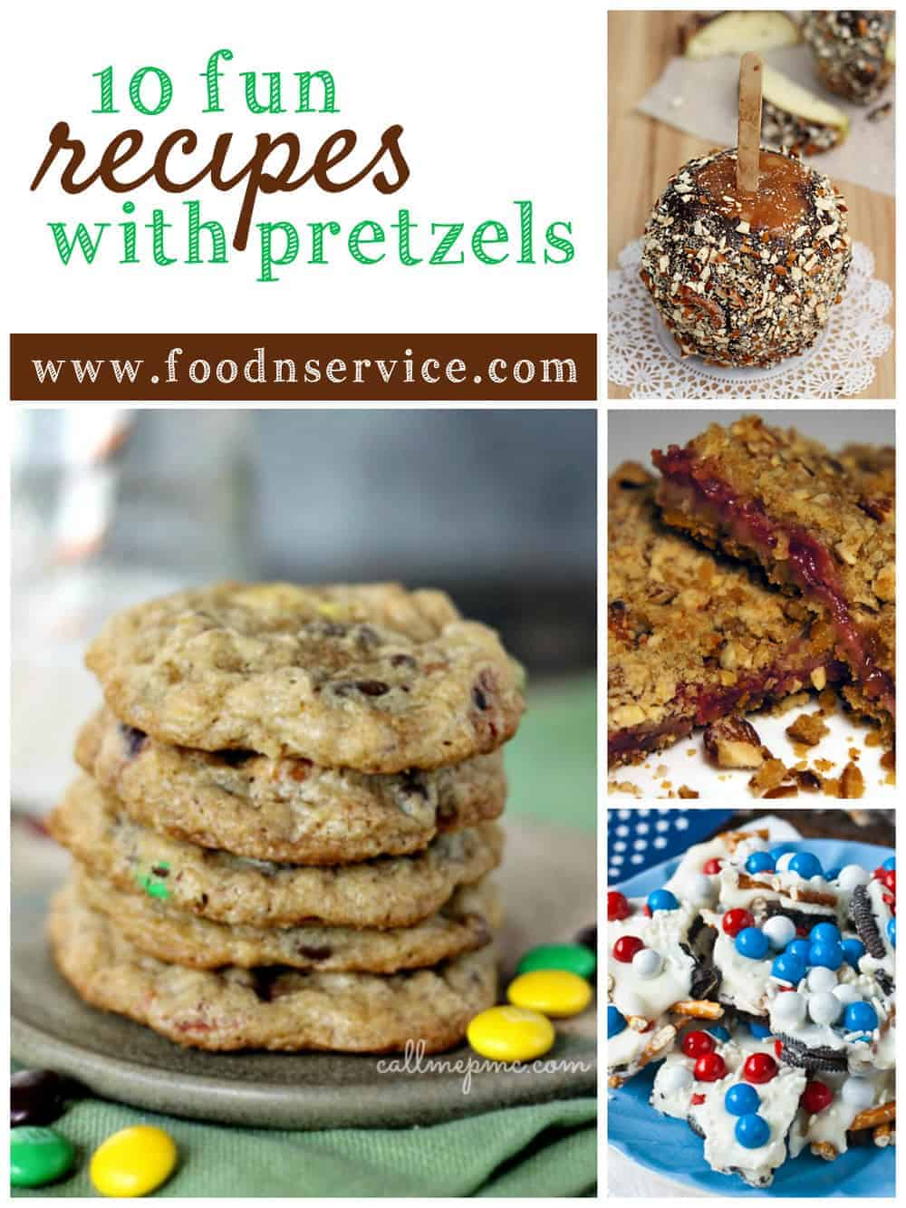 10 Fun Pretzel Recipes to enjoy all year long!