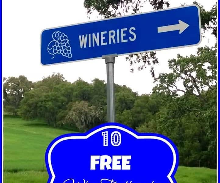 10 Free Wine Tastings in California!