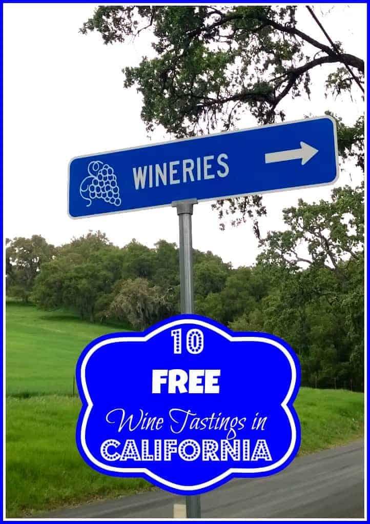 10 Free Wine Tastings in California!