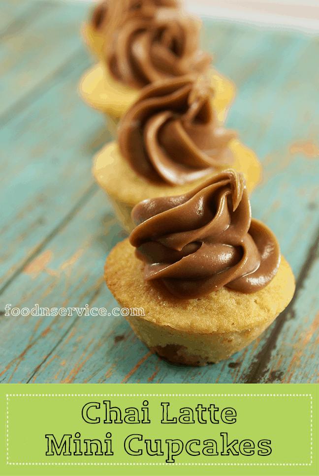 chai minicupcakes