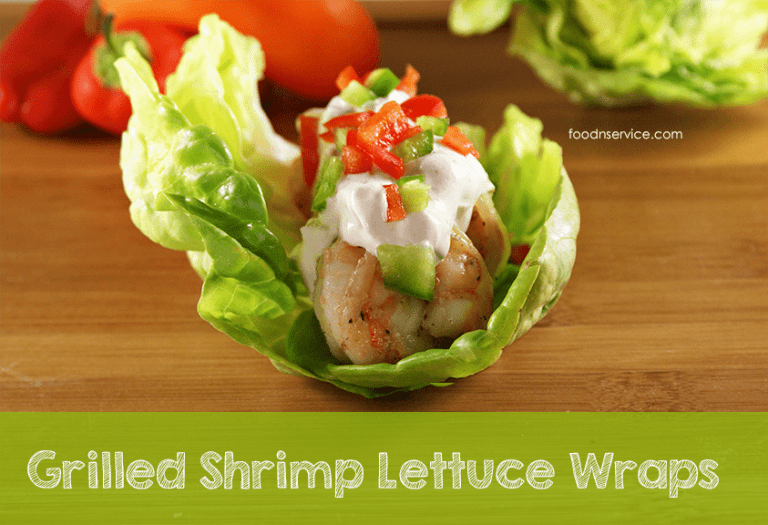 Grilled Shrimp Lettuce Wraps Recipe