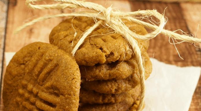 Peanut Butter Pumpkin Cookies Recipe.