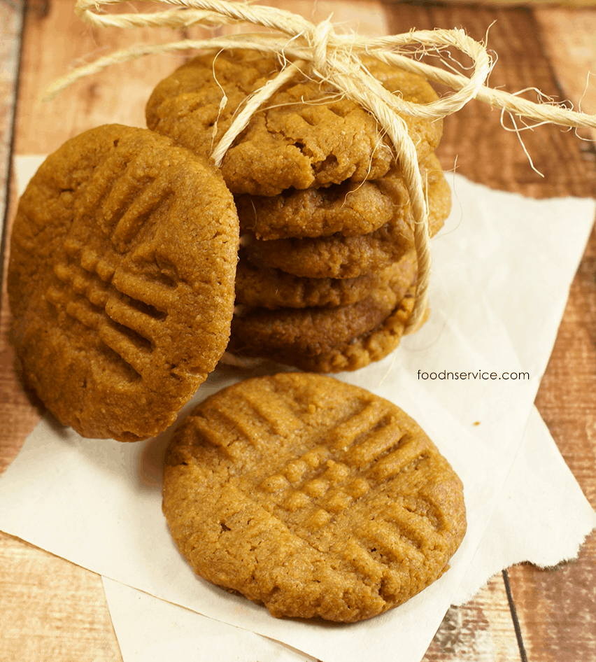 Peanut Butter Pumpkin Cookies Recipe.