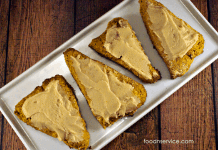 This Pumpkin Scones recipe is super delicious and very easy to make!