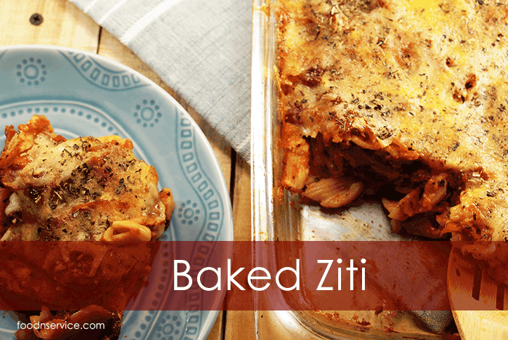 Amazing Baked Ziti Recipe! If you love and quick and easy meal, then this is the way to go!