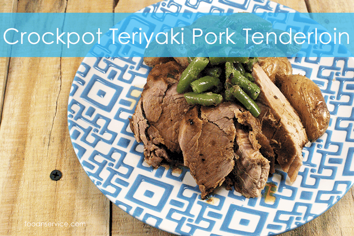 crockpot teriyaki pork tenderloin