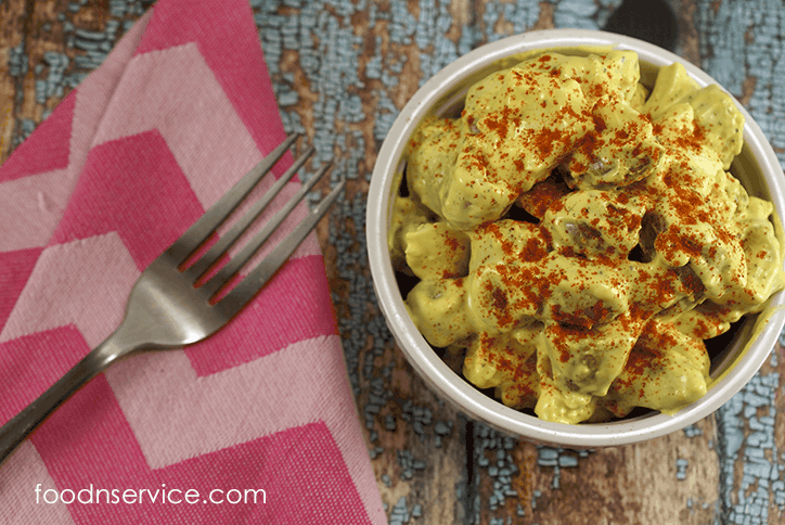 Deviled Egg Potato Salad • Food N Service