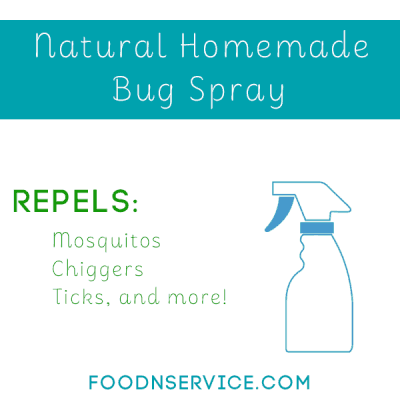 Natural Homemade Bug Spray