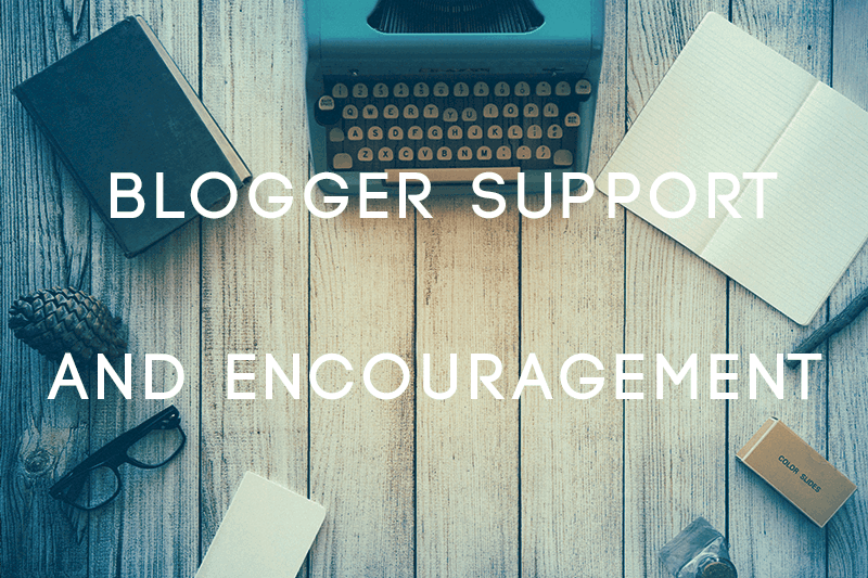 Blogger Support and Encouragement Facebook Group