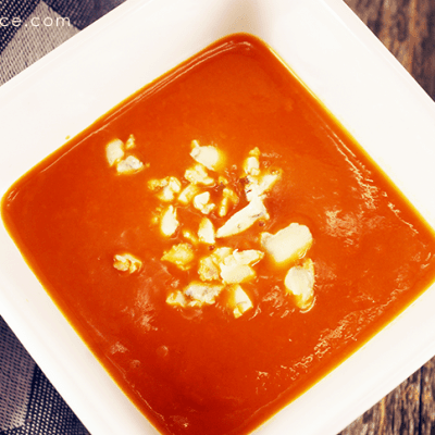 Bleu Cheese Tomato Bisque