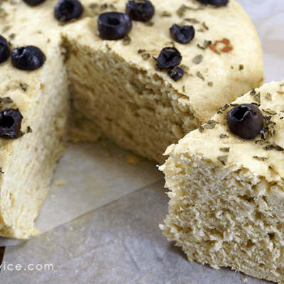 Rosemary Basil Crock Pot Bread