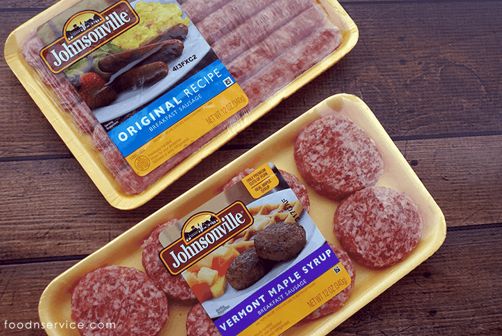 johnsonville breakfast links & patties