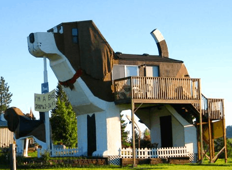 Dog Bark Park Inn Idaho