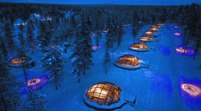 Hotel Kakslauttanen Igloo Village Finland