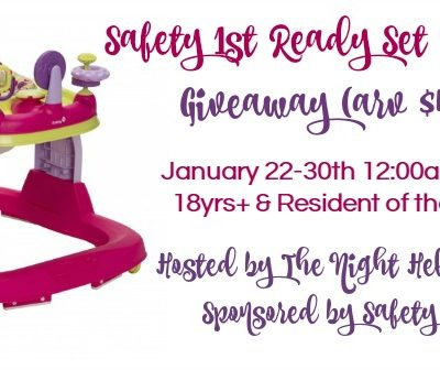 Safety 1st Ready Set Walker Giveaway!
