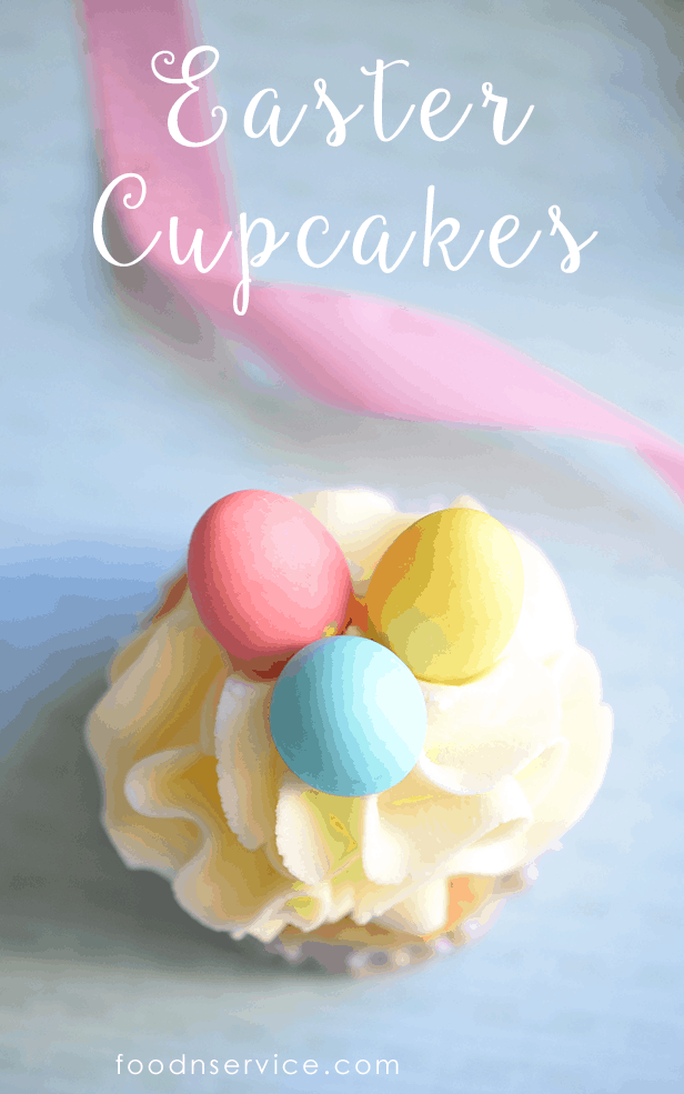 Everyone is going to love these super delicious Easter Cupcakes! Pretty to look at and eat.