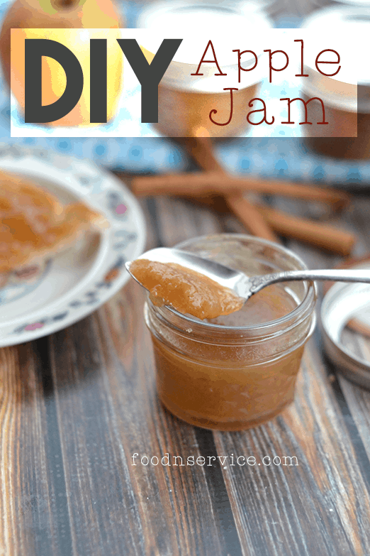 homemade diy apple jame recipe