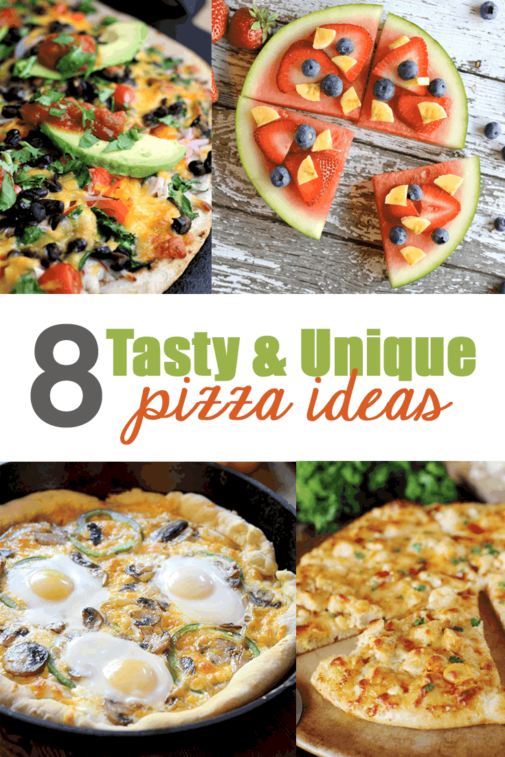 8 Tasty and Unique Pizza Ideas to Try Feeding Your Family Tonight