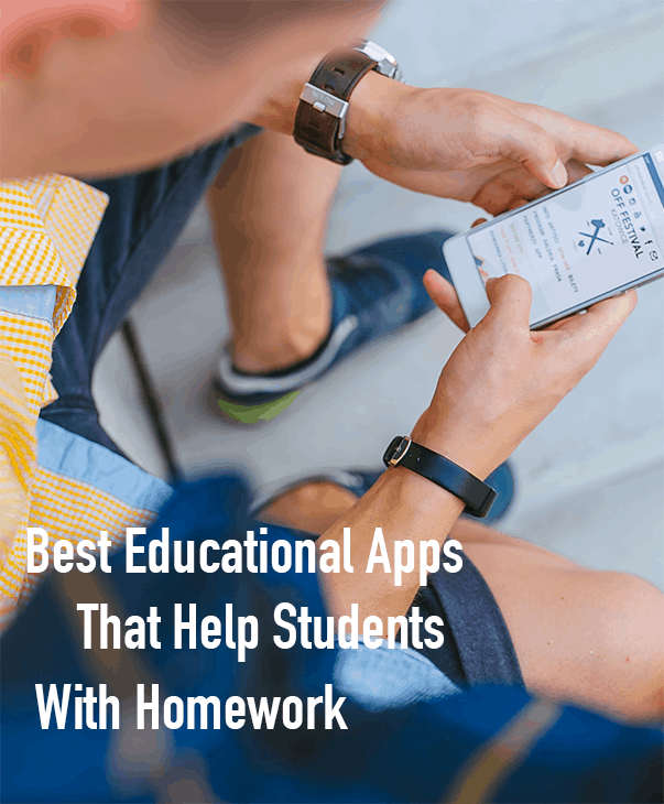 These are some of the best educational apps that help students with homework!